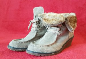 Wedge winter boots DE 40