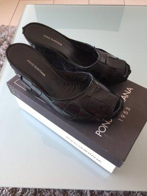 Pons Quintana Wedge Sandals black
