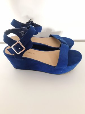 Atmosphere Platform High-Heeled Sandal blue
