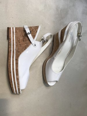 Graceland Sandalo con plateau bianco-beige