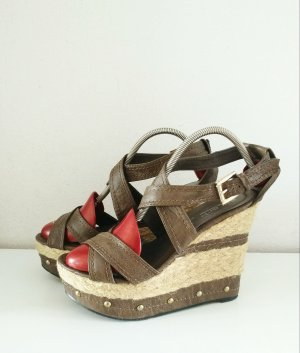 Select Wedge Sandals multicolored