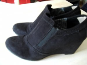 Deichmann Sabots black leather