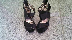 Sommerkind Platform High-Heeled Sandal black