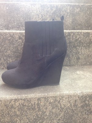 Wedges H&M Schwarz Style Fashion