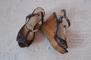 Wedges High Heels Keilabsatz Gr. 37