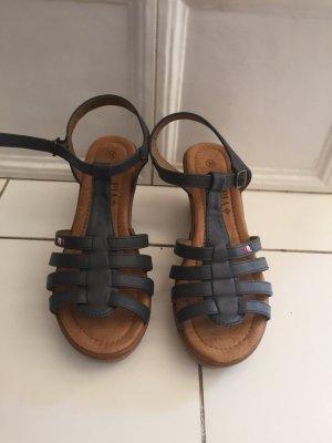 Pia Corsini High-Heeled Sandals multicolored