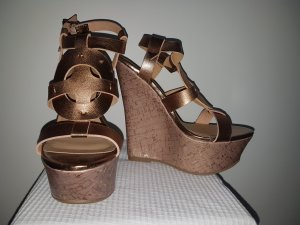 Wedges in Bronze von JustFab