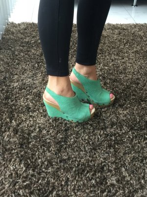 Wedge Sandals mint