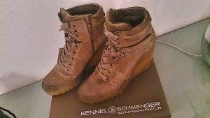 Wedges Keil Sneakers Poppy