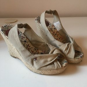Tommy Hilfiger Wedge Sandals sand brown-beige