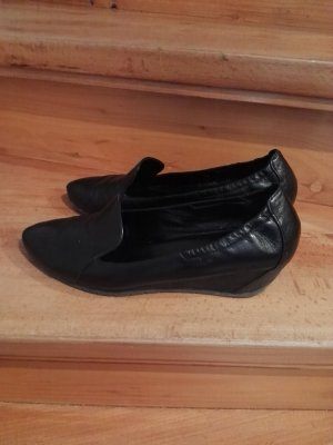 Högl Slip-on Shoes black leather