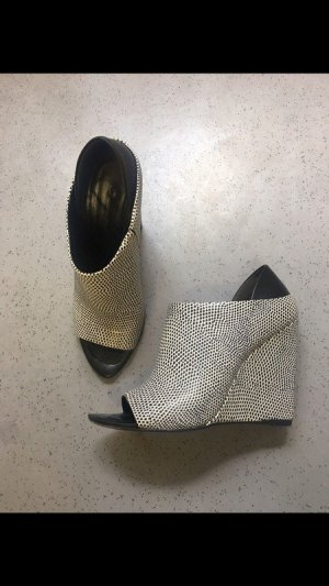 Alexander Wang Wedge Sandals black-white
