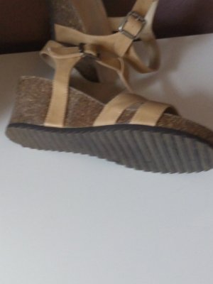 Wedge Sandals nude-beige