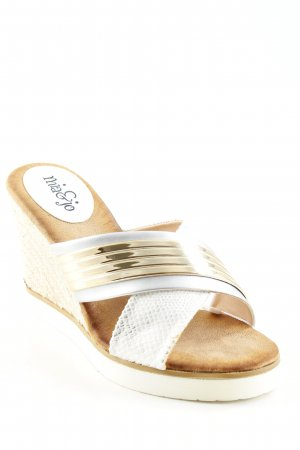 Wedge Sandals animal pattern extravagant style