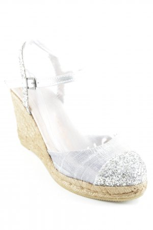 Wedge Sandals light grey-light brown casual look