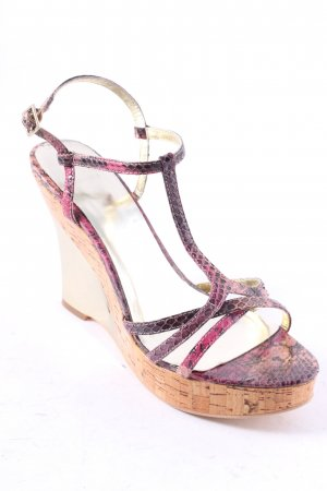 Wedge Sandals multicolored casual look