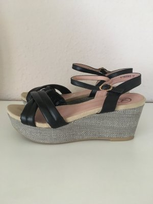 Tkmaxx High-Heeled Sandals multicolored imitation leather