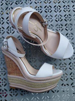 Jessica Simpson Wedge Sandals multicolored