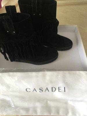 Wedges Stiefelette CASADEI schwarz Größe 37