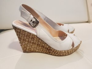 Unisa Wedge Sandals white