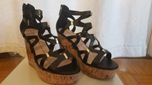 Gaudi Wedge Sandals multicolored