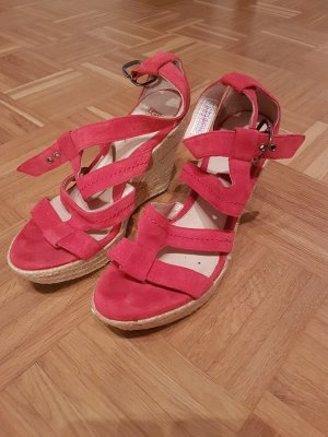UGG Wedge Sandals red