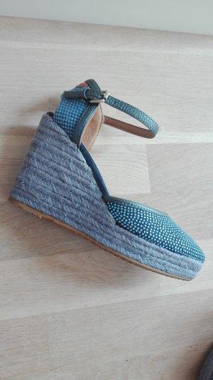 Wrangler Wedge Sandals cornflower blue
