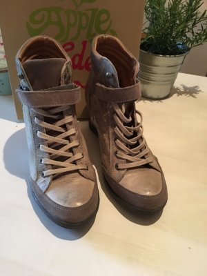 Wedgesneaker Leder Apple of Eden