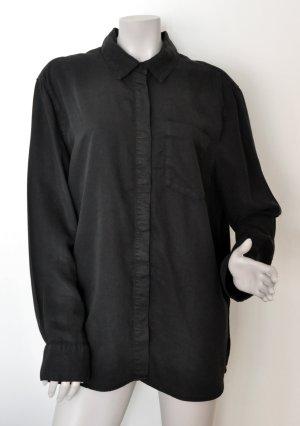 MTWTFSSWEEKDAY Blusa taglie forti nero Lyocell