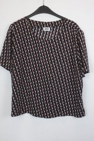 WEEKDAY Bluse Gr. S geometrisches Muster (18/6/352)