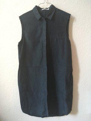 Weekday Collection Ärmelloses Hemdkleid aus Seidenmischung