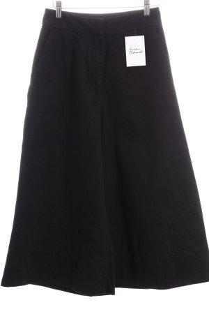 Weekday Culottes schwarz minimalistischer Stil