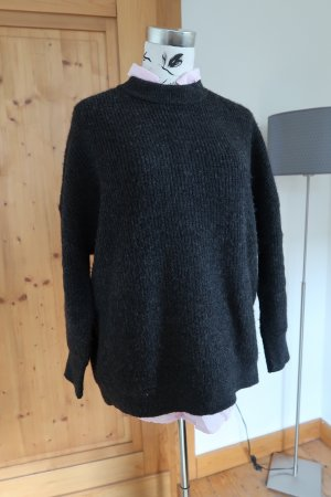 Weekday- dicker oversized Strickpullover anthrazit