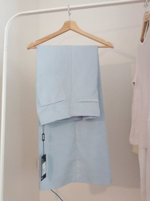 Weekday High Waist Trousers azure polyester