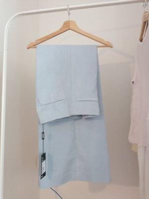 Weekday Hoge taille broek azuur Polyester
