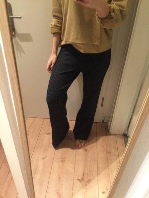Weekday graue Strick Hose mit ausgestelltem Bein Neu)