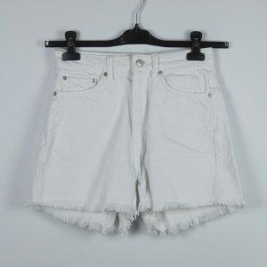 Weekday High Waist Shorts Gr. 36 weiß (19/04/289)