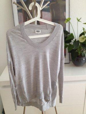 Weekday hochwertiger pullover 100% merino wolle