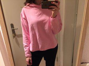 Weekday Hoodie Kapuzenpulli pink rosa Sweater