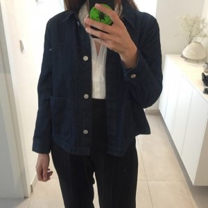 Weekday Denim Jacket dark blue