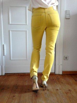 Weekday Jeans Gelb