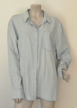 Weekday Denim Blouse pale blue-azure