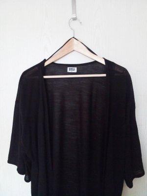 Weekday Kimono/ Cardigan schwarz
