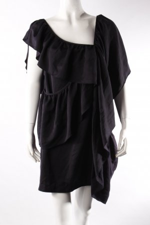 Weekday dress draped dark blue