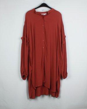 Weekday Kleid Gr. M rostrot oversized (19/04/062)
