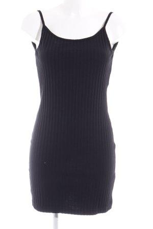 Weekday Minikleid schwarz Elegant