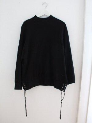 Weekday Oversize Sweatshirt mit Bändern Gr. M