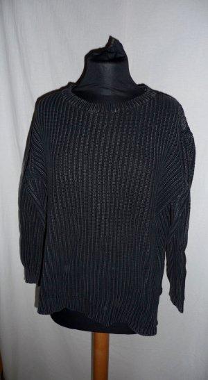 Weekday Pulli Pullover M schwarz Oversize