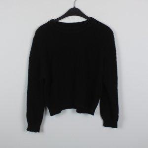 WEEKDAY Pullover Gr. S schwarz oversized (18/11/455)