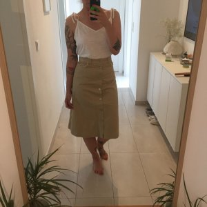 Weekday High Waist Skirt beige
